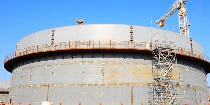 Verwater Tank Construction