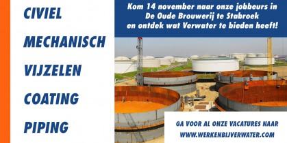 Werken bij Verwater - Jobbeurs