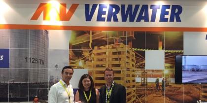Verwater at Tank Storage Asia