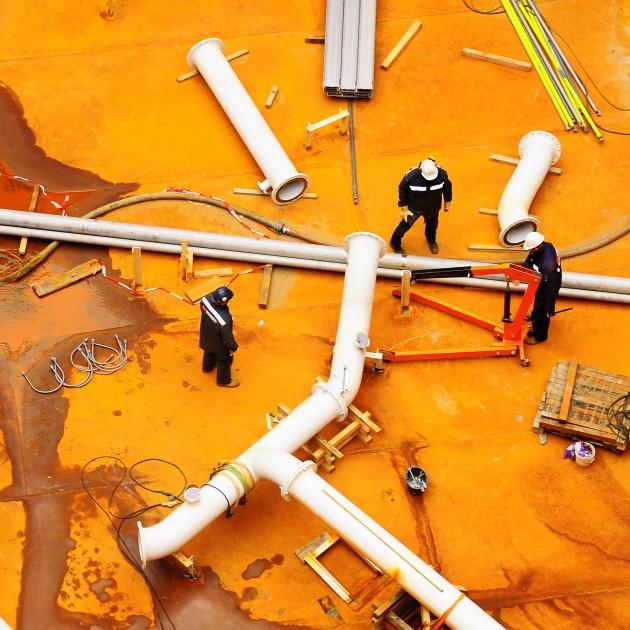 Piping and Mechancial, Tank Construction