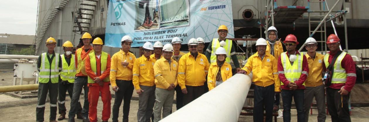 Verwater Tankjacking Petronas