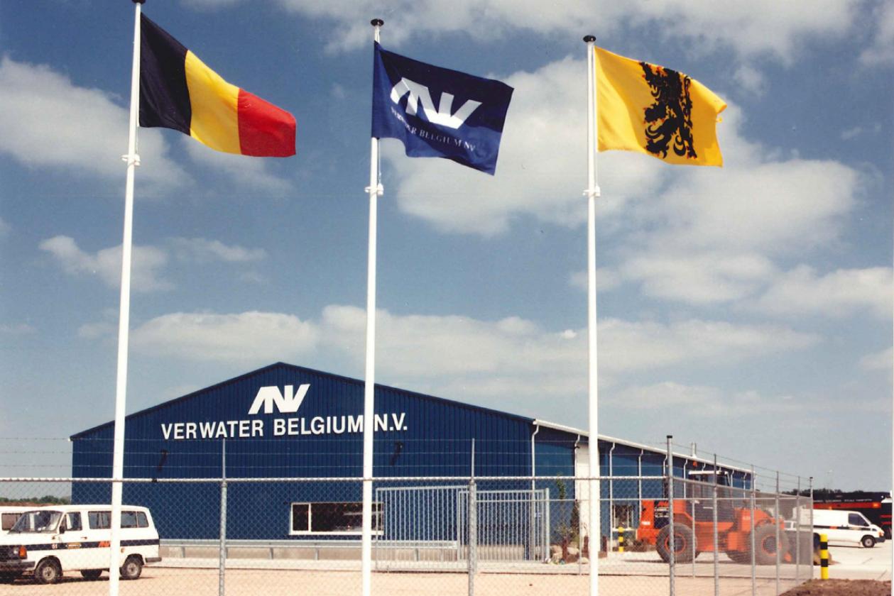 Start of Verwater Belgium