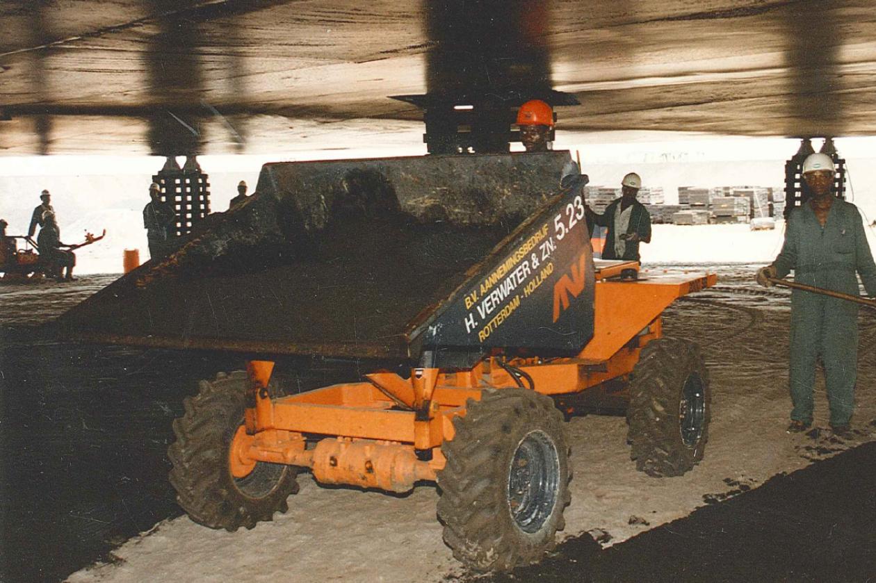 Start of Verwater works in Africa